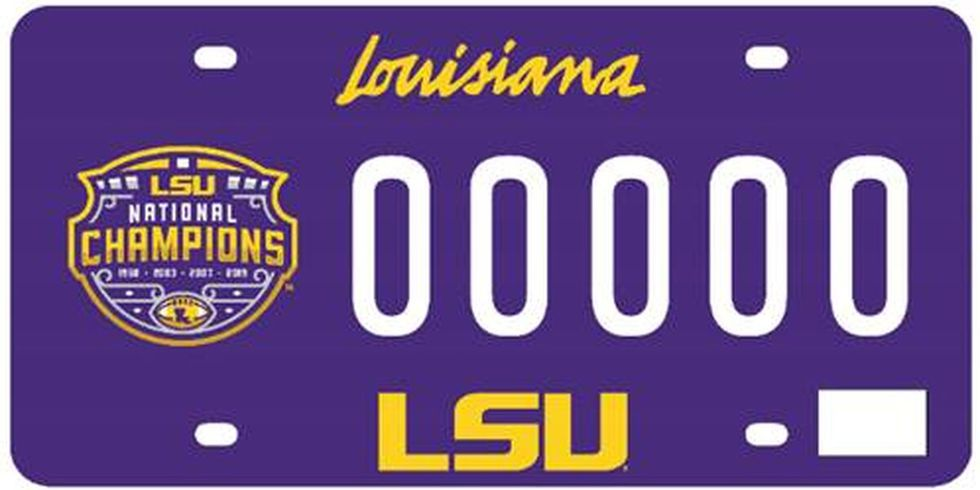 The Louisiana Office of Motor Vehicles (OMV) is excited to announce the release of the 2019 LSU...