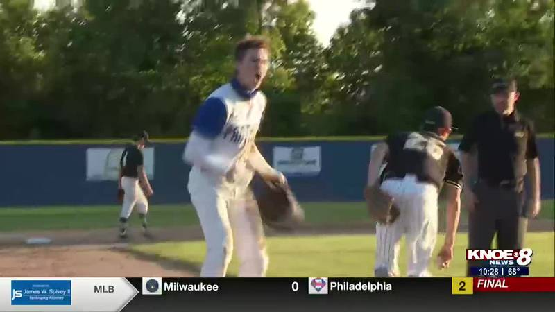 Sterlington baseball wins game one of their quarterfinal series and Claiborne Christian punches...
