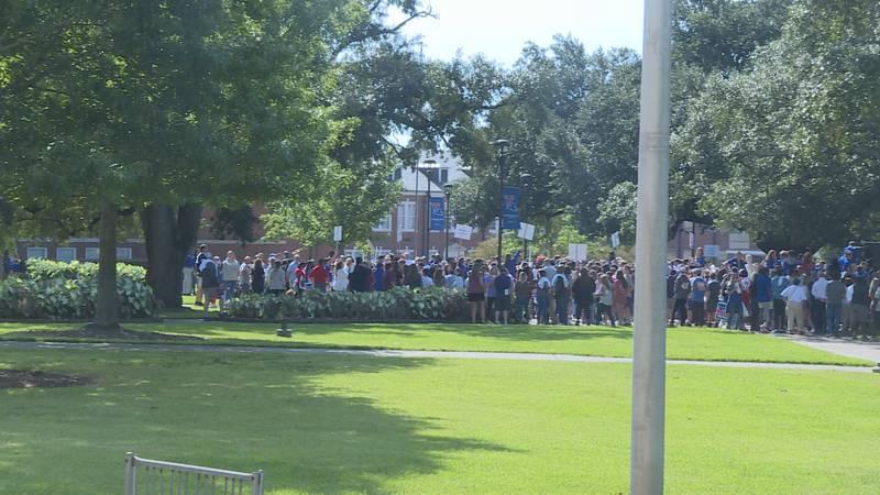 Students explored the Bulldog campus