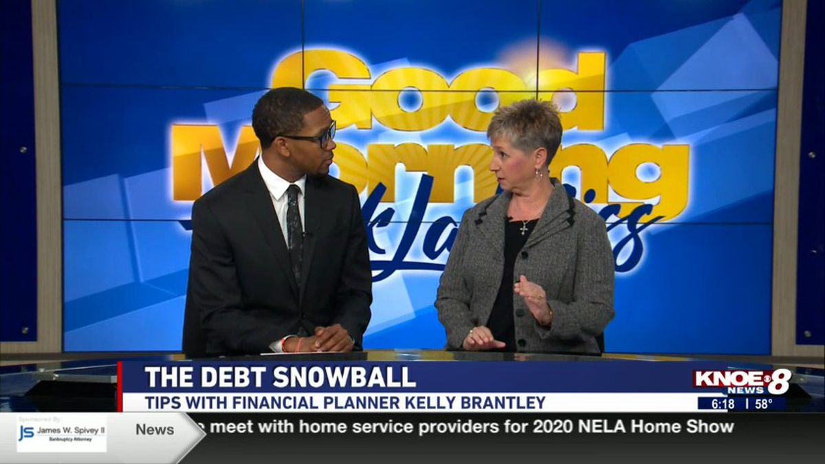 Financial Planner Kelly Brantley joined with Tyler Smith discussing tips on eliminating debt....
