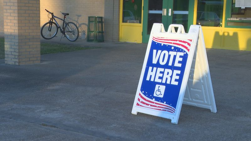 FILE PHOTO / Voting Sign