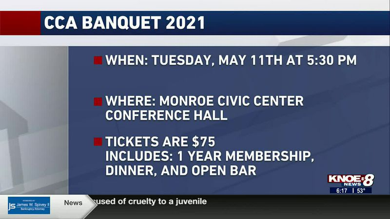 The Monroe chapter of the Coastal Conservation Association will be holding its banquet on May...