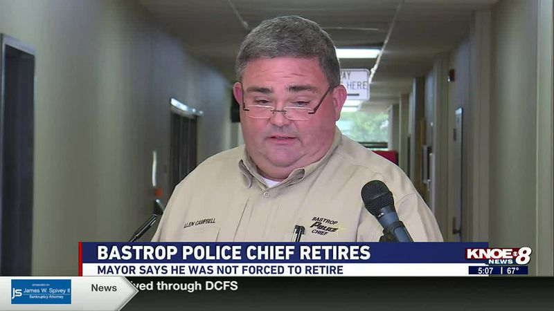 MAYOR SAYS HE WAS NOT FORCED TO RETIRE