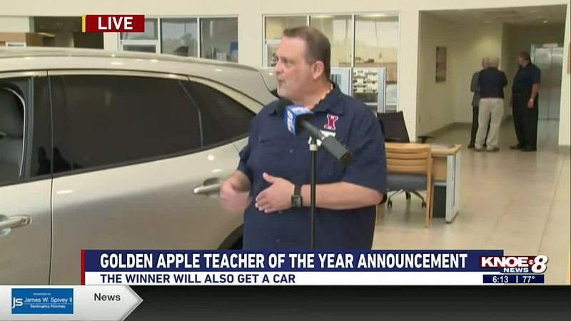 Banner Ford of Monroe Golden Apple Teacher of the Year