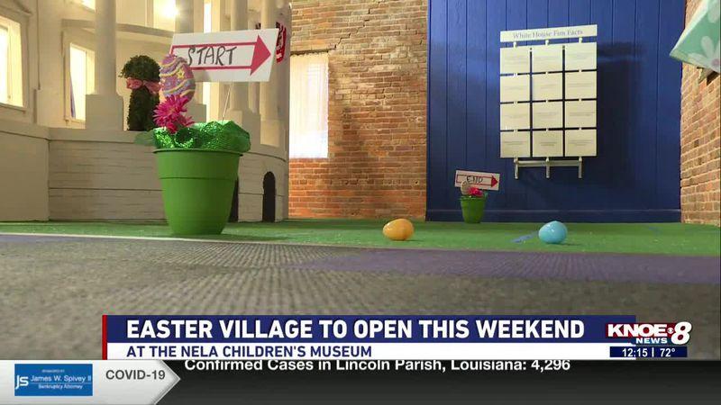Easter Village at NELA Children's Museum
