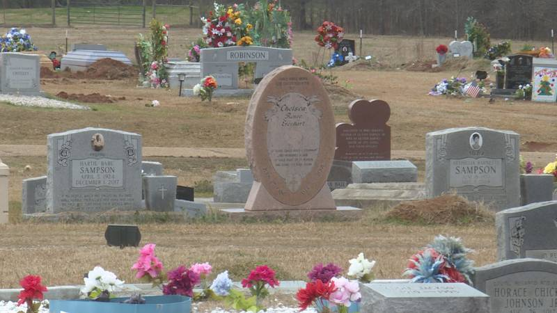 According to Mayor Henry Cotton, the city's four cemeteries are almost nearly filled.