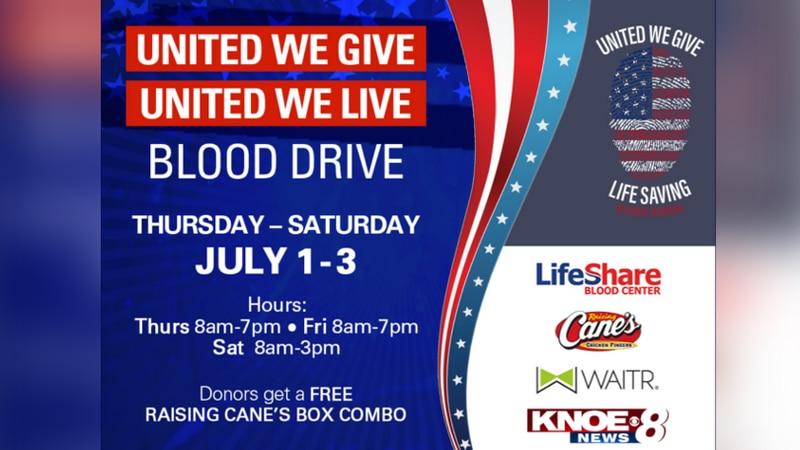 LifeShare United We Give, United We Live event