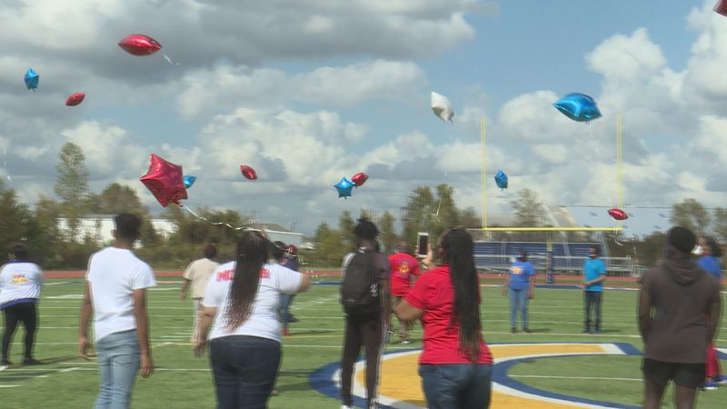 Carroll High School honored two sisters who died in a trooper involved crash earlier this month.