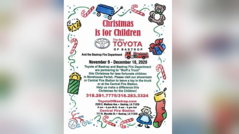 BFD Toy Drive