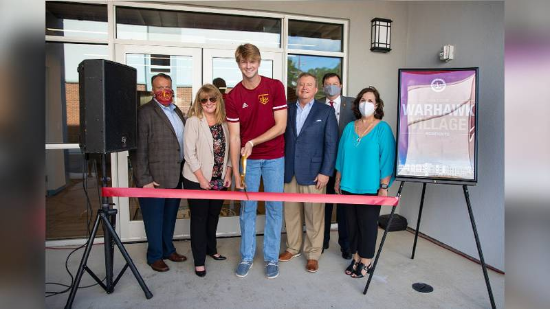 ULM officially opens Warhawk Village Apartments