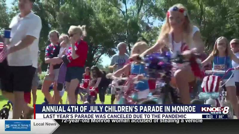The parade has been going on for about 40 years.