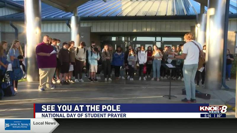 """The Christian-based event is known as 'See You at the Pole,"""" and is part of National Day of..."""