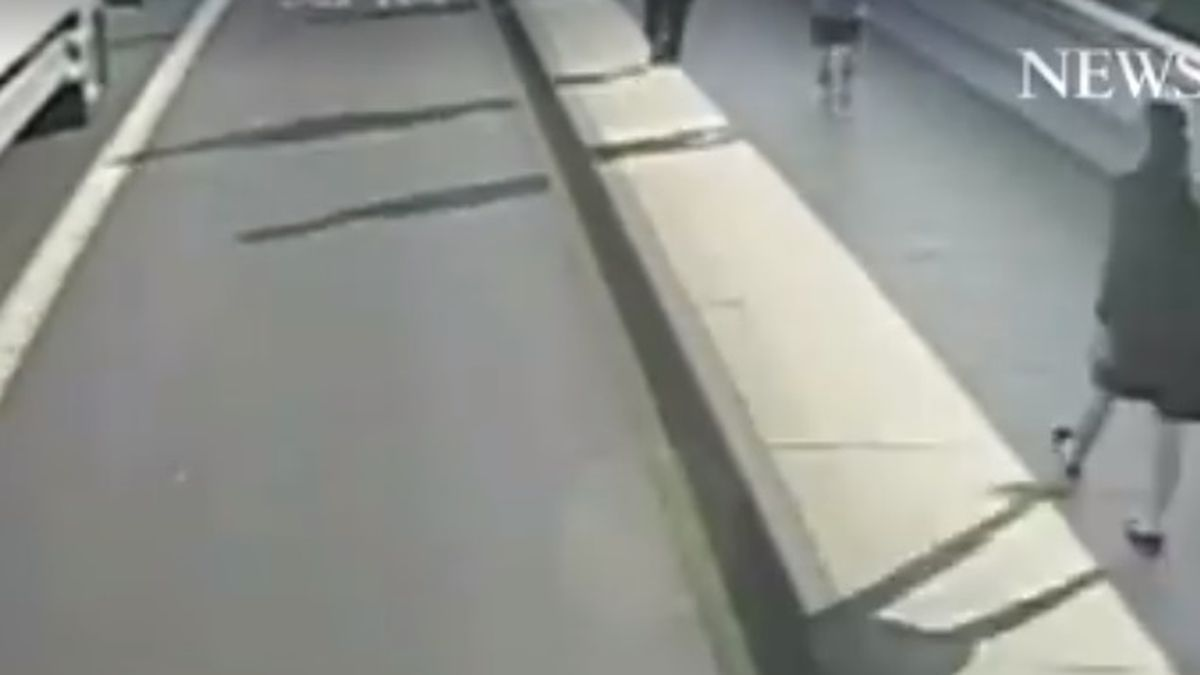 In this image taken from surveillance camera video released by London's Metropolitan Police on...
