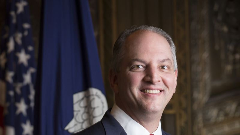 Louisiana Governor John Bel Edwards (Photo by Marie Constantin)