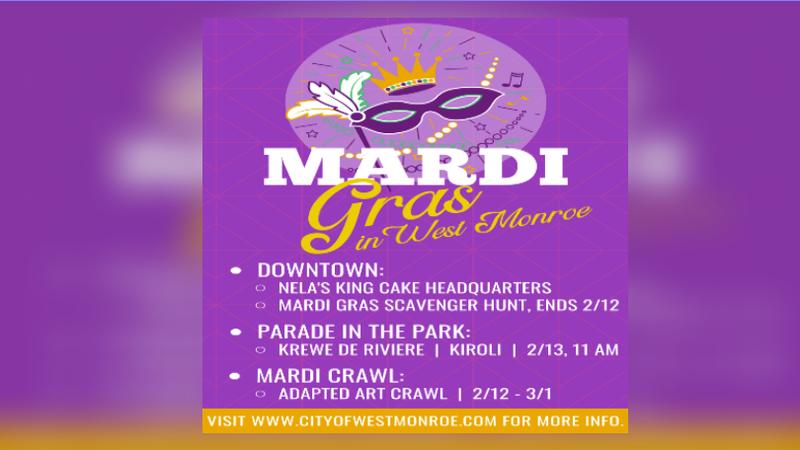 Mardi Gras in West Monroe