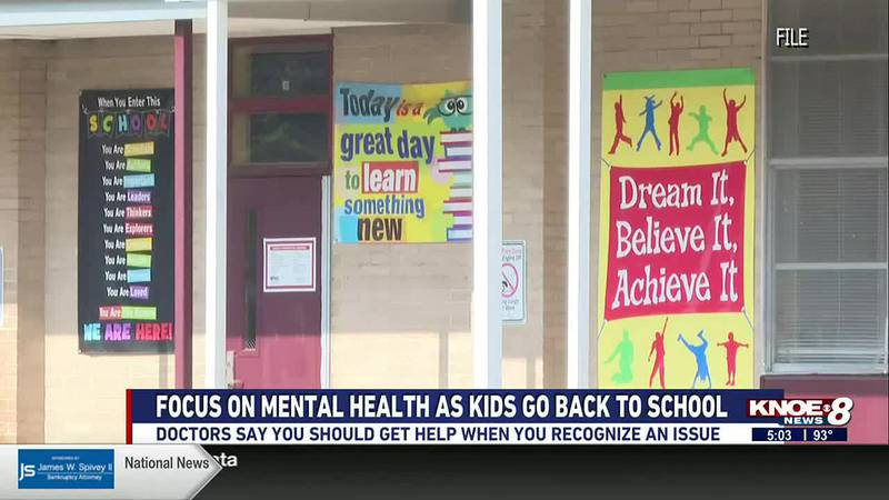 Doctors are advising parents to keep an eye on their child's mental health.
