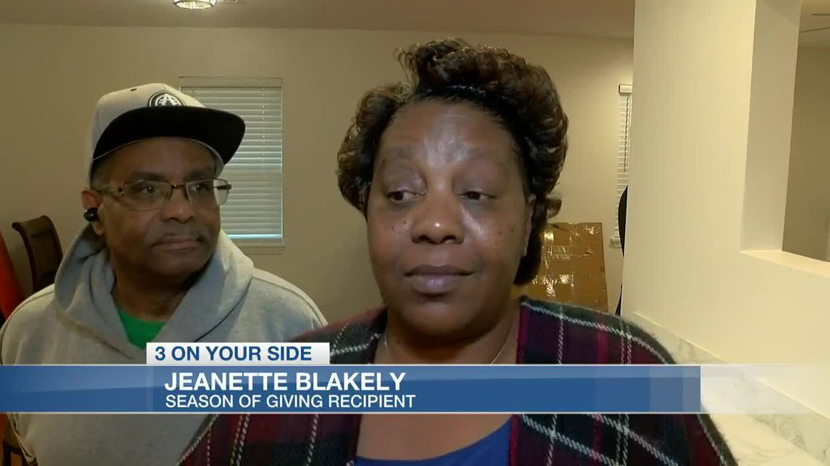 Miskelly Season of Giving: Formerly homeless couple surprised with free furniture