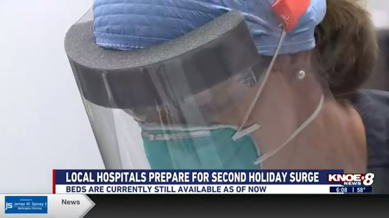 Hospitals want to assure the community there is still room for patients, and there are no staff...