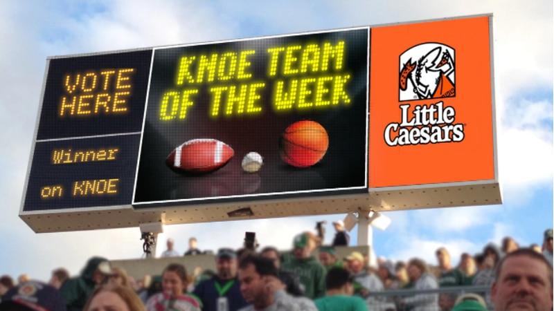 Team of the Week Scoreboard