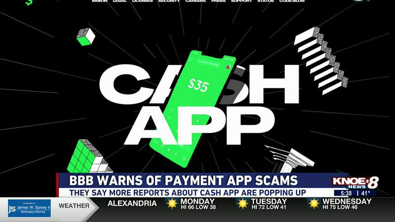 BBB warning of scams on payment platforms like Cash App