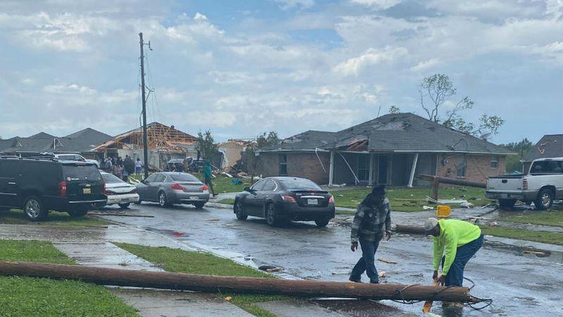 File photo of severe weather damage. / Source: KNOE