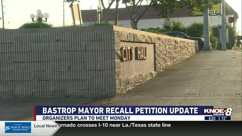 A petition is still underway to recall the Bastrop mayor.