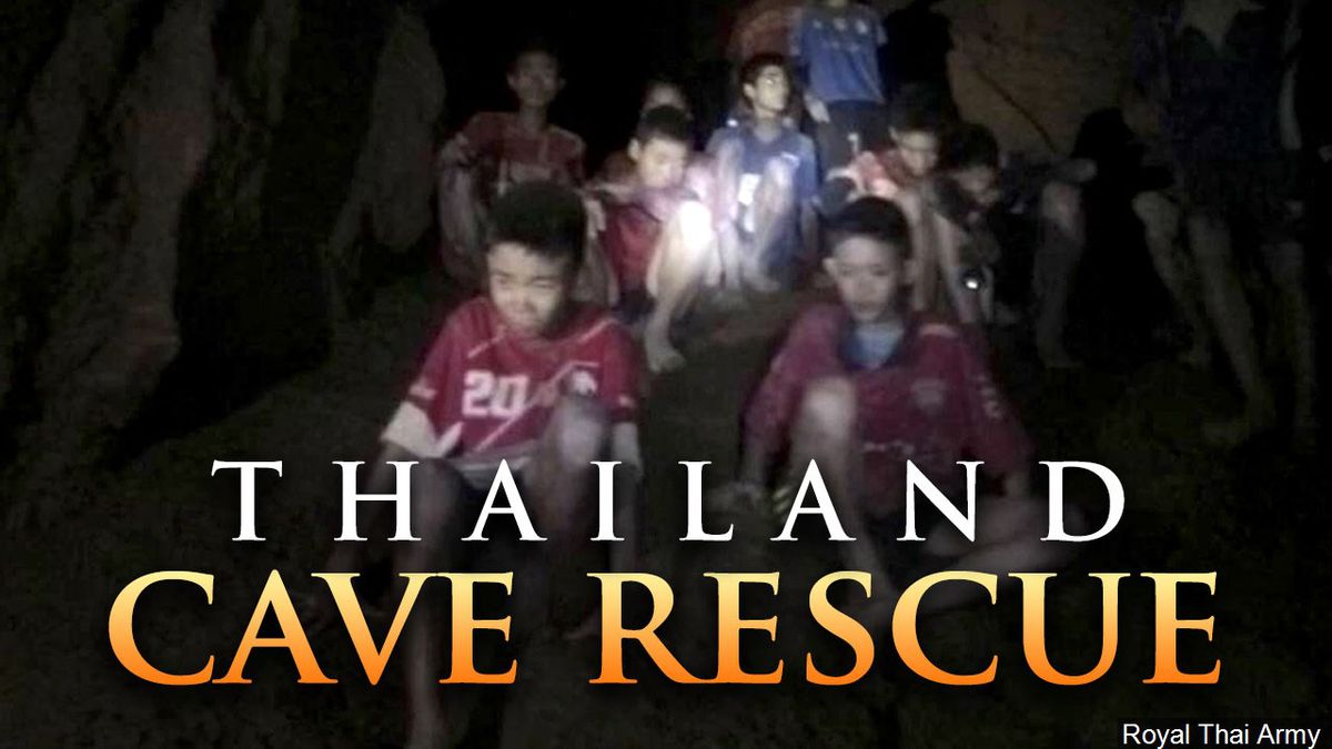 Thai cave rescue: Thailand football team trapped faces major risks to come out of the cave...