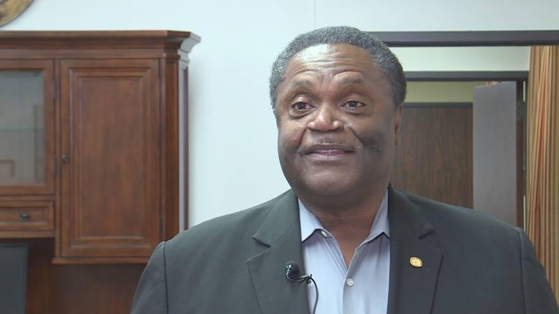 Former Monroe Mayor Jamie Mayo was hired as Bastrop's new Washington Consultant.