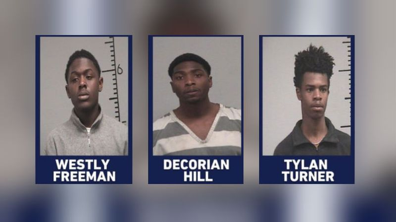 Westly Freeman, Decorian Hill, Tylan Turner