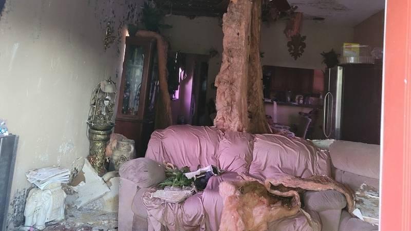 Barbara Young home damage