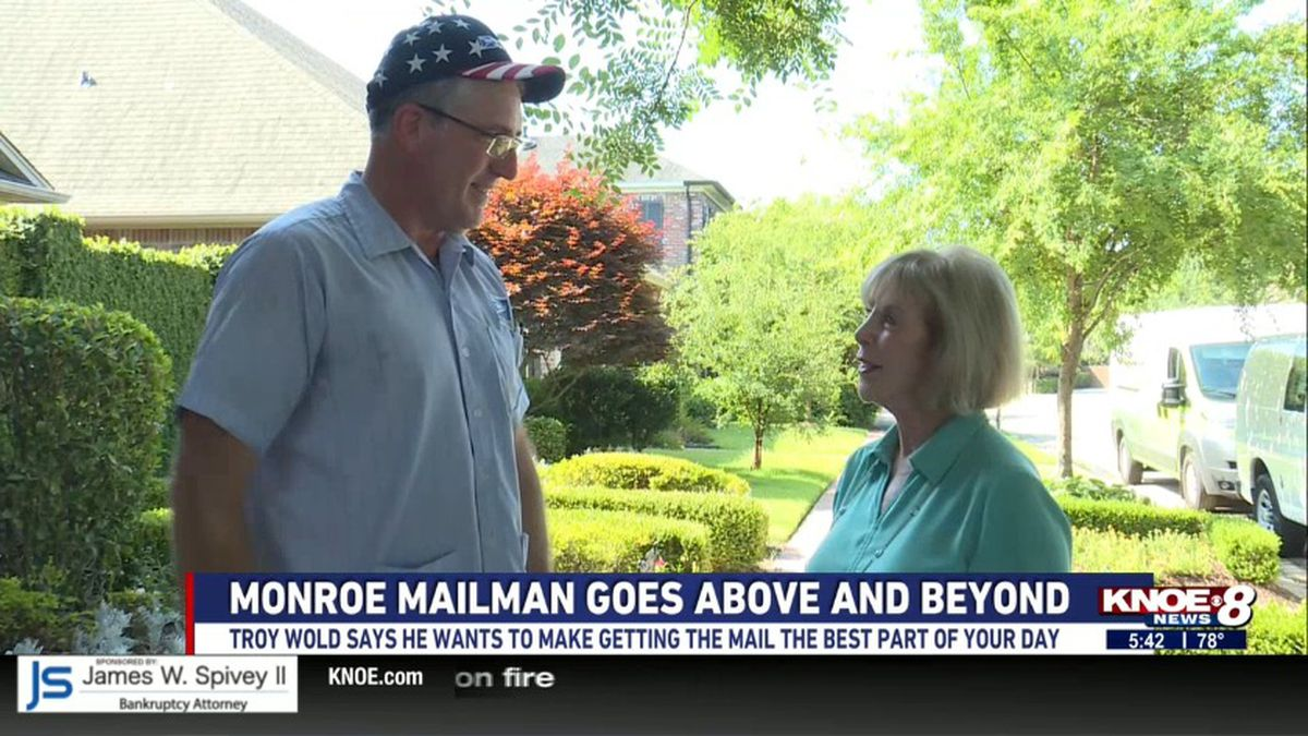 Neighbors say Troy Wold is one of the best mailmen they've ever had, they say he picks up...