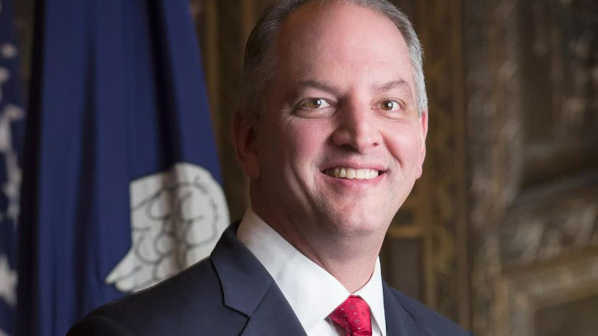 Gov. John Bel Edwards of Louisiana