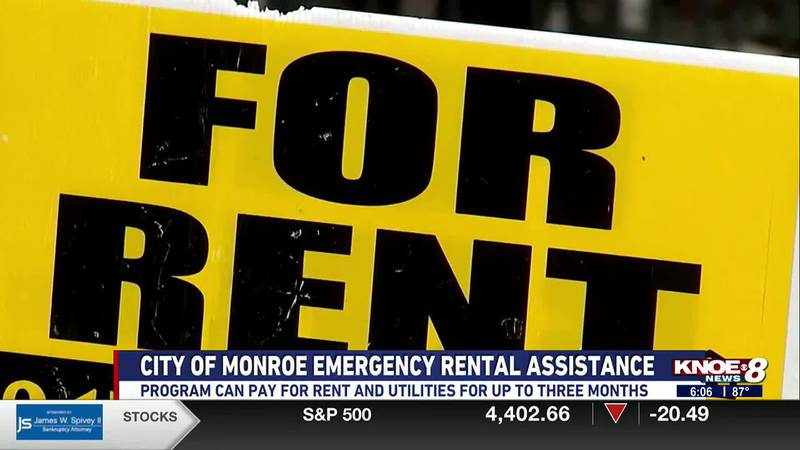 Monroe residents receive money for rent and utilities from rental assistance program