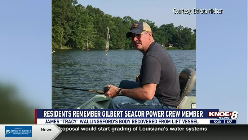 """James """"Tracy"""" Wallingsford's body was recovered from the capsized lift vessel."""