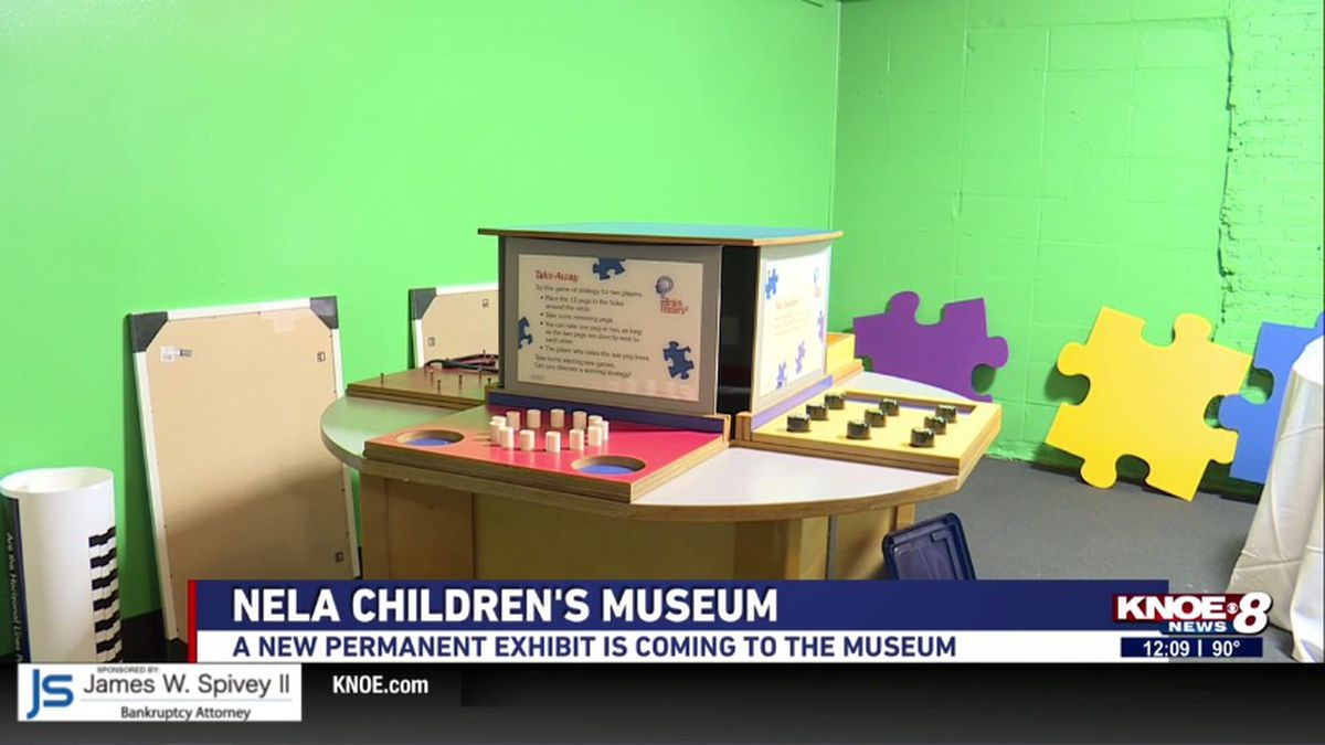 The Northeast Louisiana Children's Museum is getting a new exhibit designed to test your critical thinking. (KNOE) -