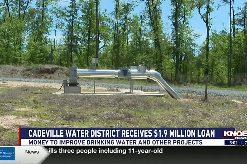 The money will help to improve drinking water and other projects.