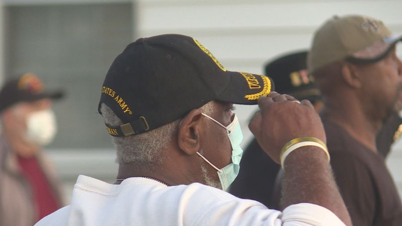 People from throughout the city of Monroe saluted our veterans at the Chennault Aviation &...