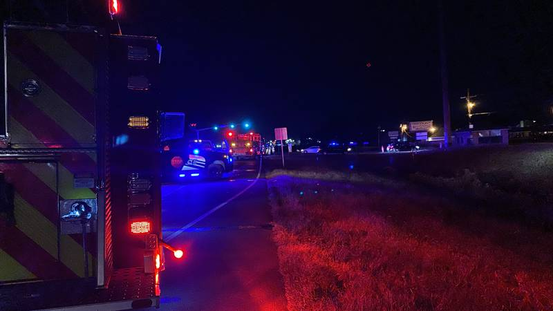Two crashes on Highway 165 South