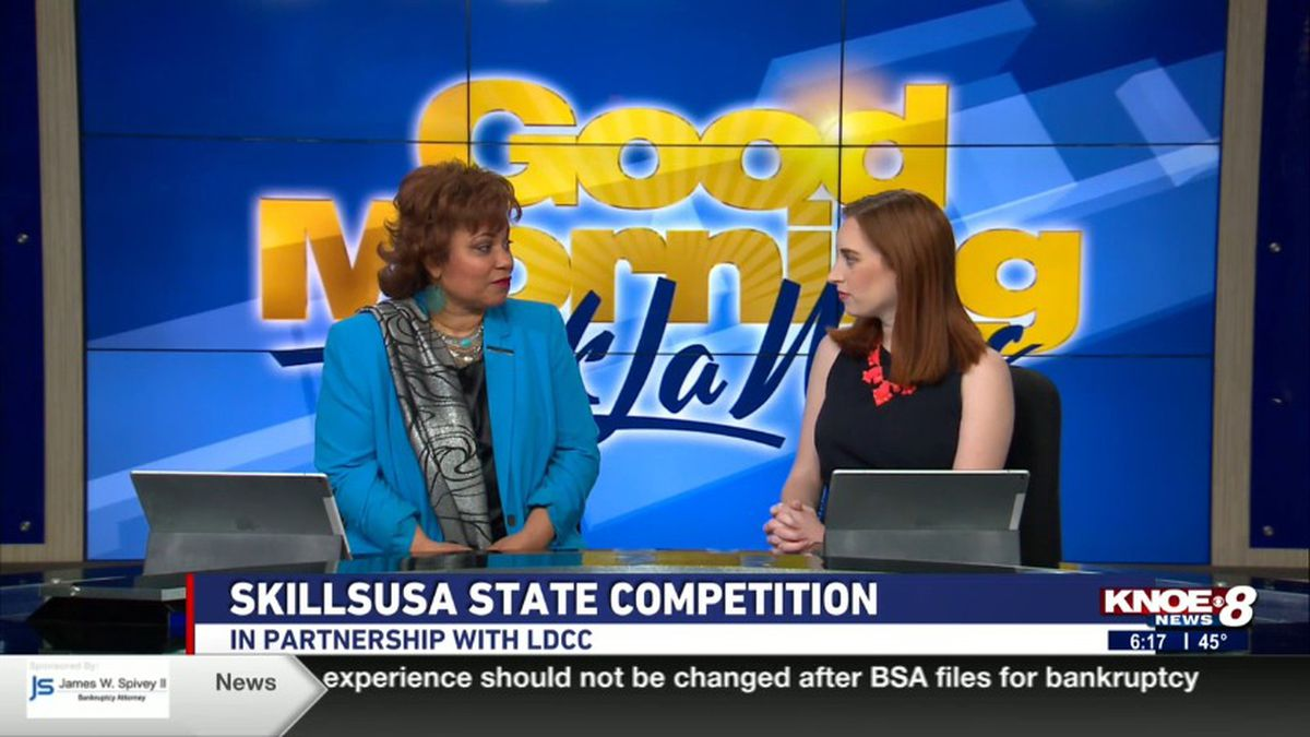 Darian Atkins joined with Jessica discussing the SkillsUSA State Competition in partnership with LDCC.