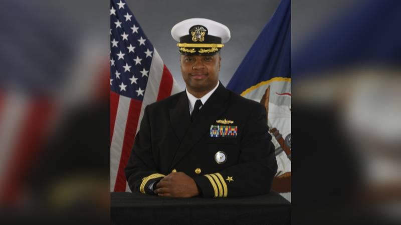 "United States Navy Commander Dominique ""DJ"" Jackson"