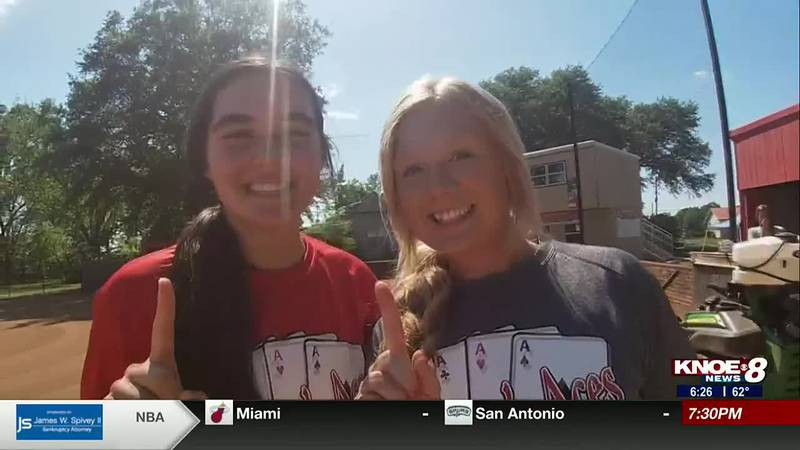 Sports Director Aaron Dietrich tells the story of Forest's Katie Rios and Brooke Ross.