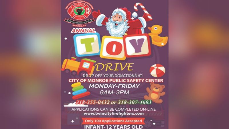 Twin City Firefighters 2020 Toy Drive