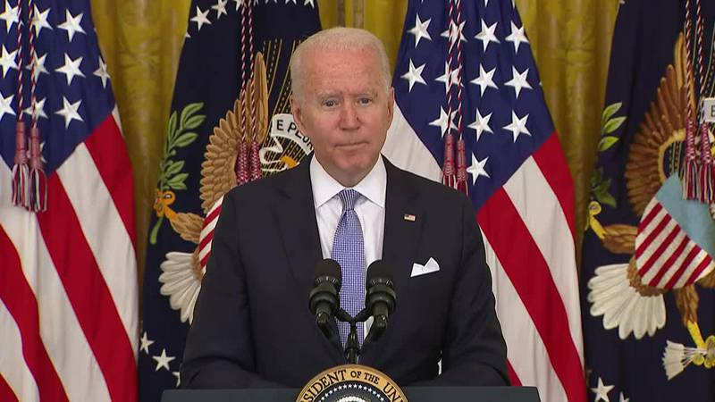 President Joe Biden addressed new vaccine requirements and the response to the COVID-19...