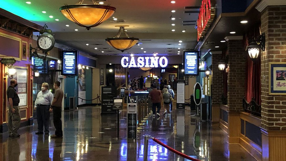 File photo of a casino.