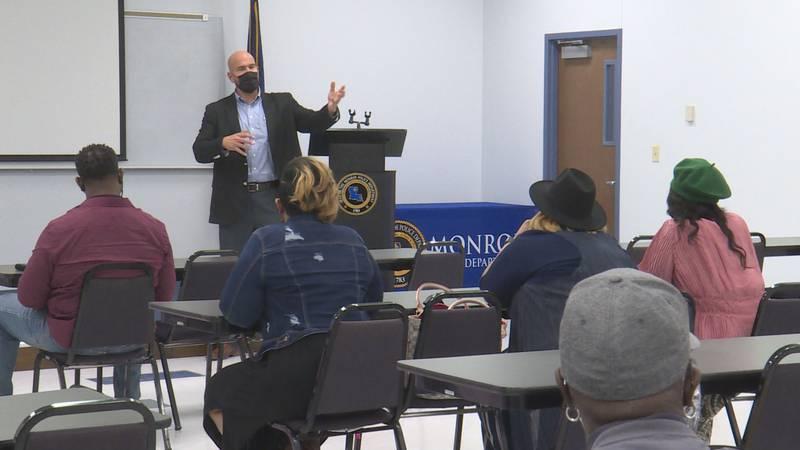 The Monroe Police Department is rebooting an old program to help bridge the gap between the...