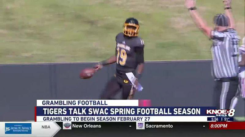 Grambling's 2021 spring football season is set to begin on February 27.