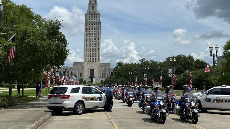 Former Governor Edwin Edwards was laid to rest on Sunday, July 18 in Baton Rouge.