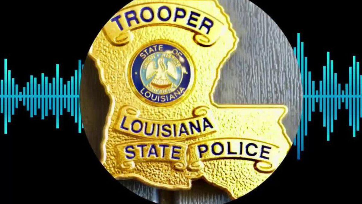 Louisiana State Police Audio Graphic