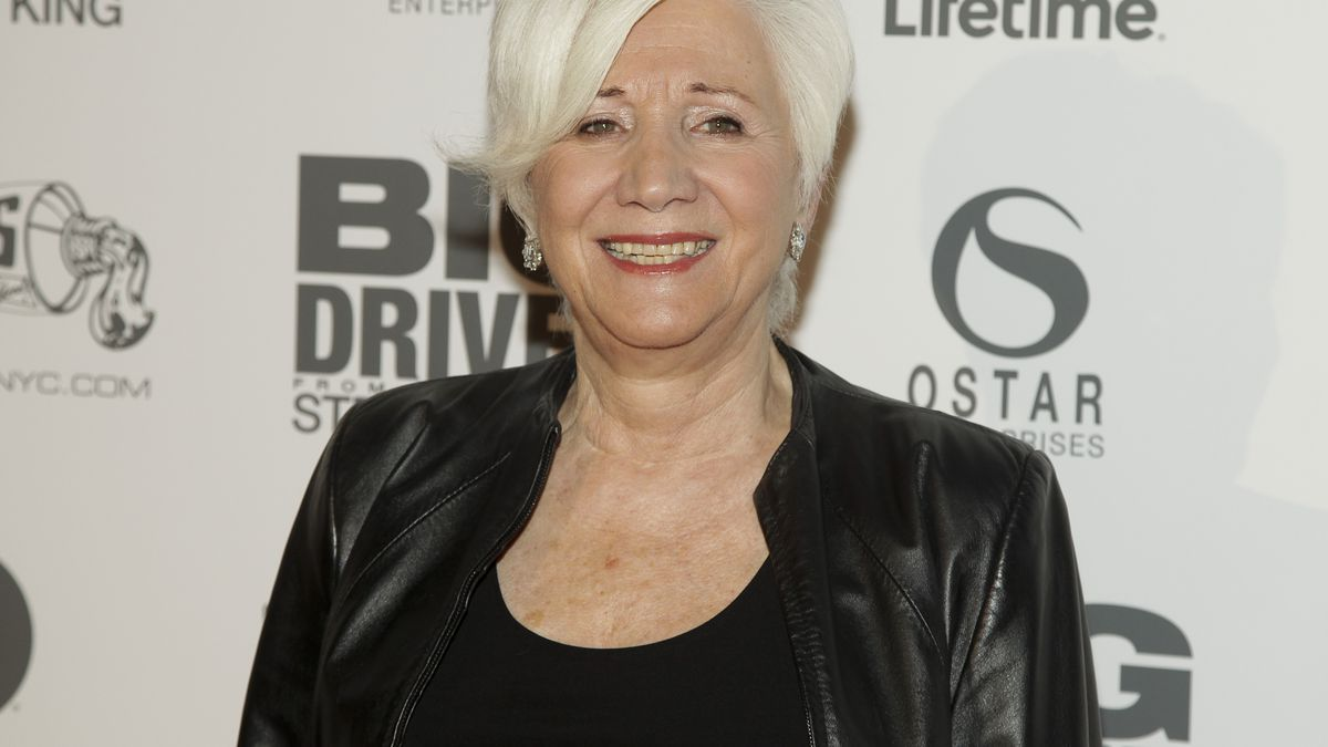 """Olympia Dukakis attends a screening of Lifetime's """"Big Driver"""" on Wednesday, Oct. 15, 2014, In..."""