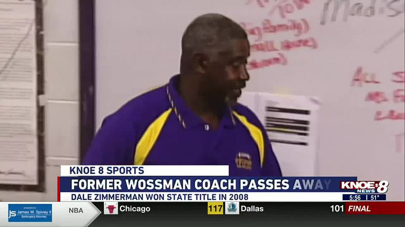 Former Wossman basketball and football coach Dale Zimmerman has passed away.